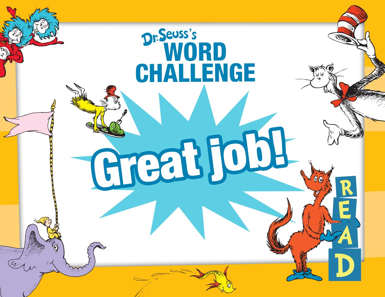 Word Challenge Certificate